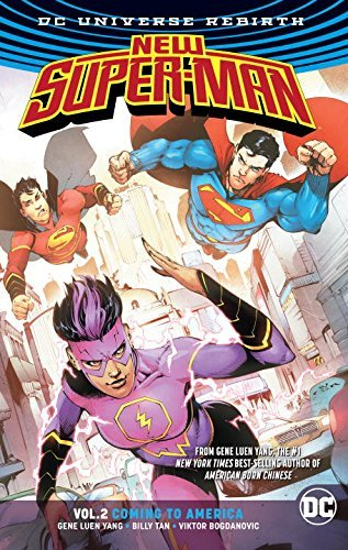 Gene Luen Yang New Super Man Vol. 2 Coming To America (rebirth)