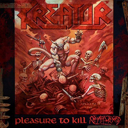 Kreator Pleasure To Kill Import Gbr