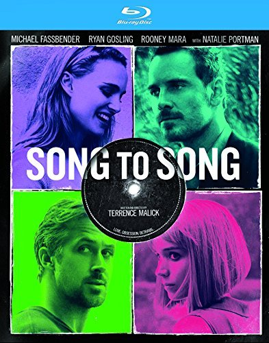 Song To Song Fassbender Mara Gosling Portman Blu Ray R