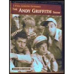 The Andy Griffith Show 3 Full Length Episodes DVD Nr