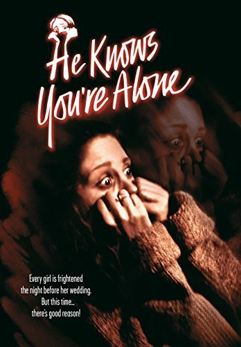 He Knows You're Alone Scardino O'heaney DVD Mod This Item Is Made On Demand Could Take 2 3 Weeks For Delivery