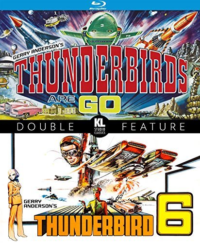 Thunderbird 6 Thunderbirds Are Go! Double Feature Blu Ray G