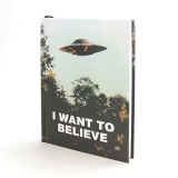 X Files I Want To Believe Journal