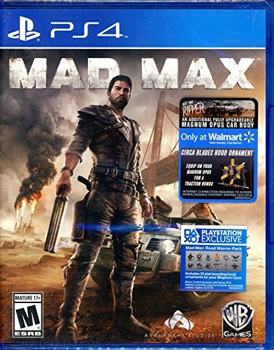 Ps4 Mad Max Walmart Exclusive