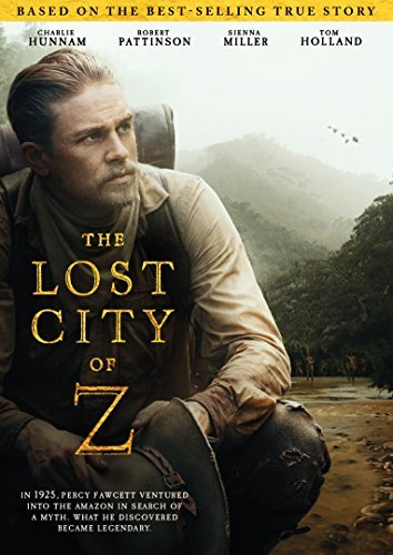 Lost City Of Z Hunnam Pattinson Miller DVD Pg13