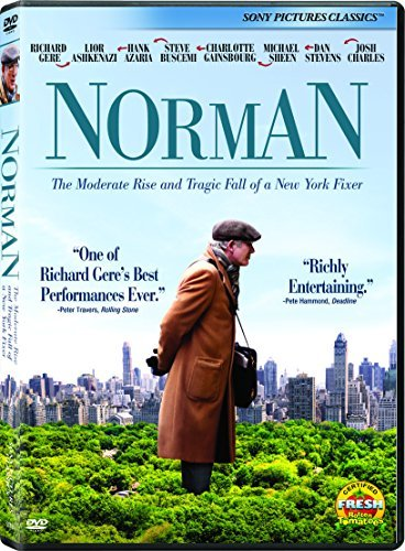 Norman The Moderate Rise And Tragic Fall Of A New York Fixer Gere Sheen Ashkenazi DVD R
