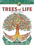 Cari Buziak Creative Haven Trees Of Life Coloring Book