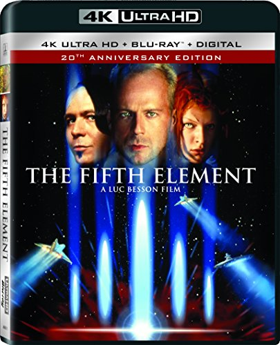 Fifth Element Willis Oldman Jovovich Holm 4k Pg13