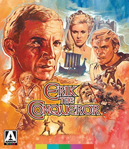 Erik The Conqueror Mitchell Ardisson Blu Ray DVD Nr