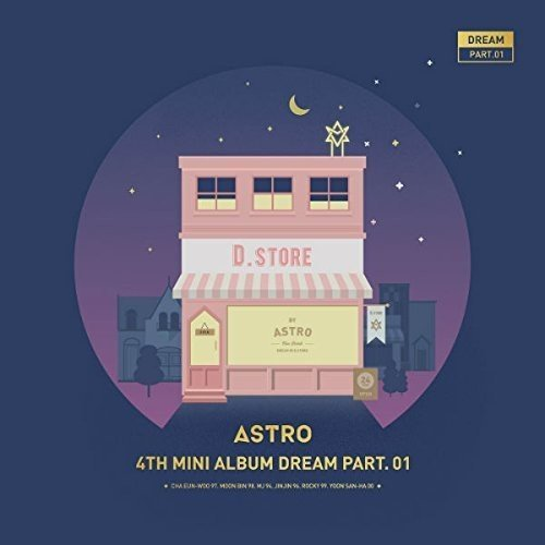 Astro Dream Part.01 Night Version Import Kor