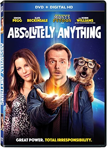 Absolutely Anything Pegg Beckinsale Williams DVD Dc R