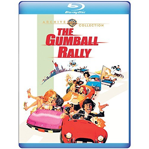 Gumball Rally Sarrazin Mcintire Julia Blu Ray Mod This Item Is Made On Demand Could Take 2 3 Weeks For Delivery