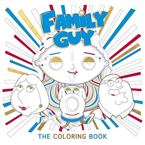 Titan Books Family Guy The Coloring Book