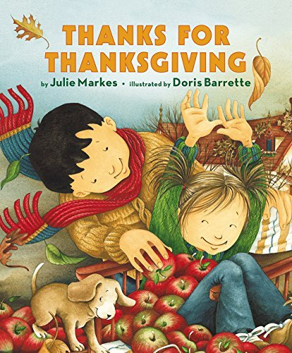 Julie Markes Thanks For Thanksgiving Board Book