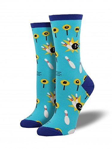 Socks Womens Crew Spare Time Bright Blue