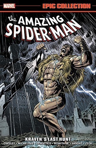 Peter David Amazing Spider Man Epic Collection Kraven's Last Hunt