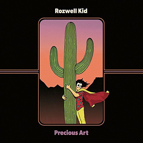 Rozwell Kid Precious Art Orange & Purple Vinyl