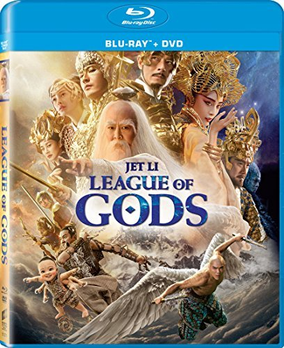League Of Gods Li Koo Fan Blu Ray DVD Pg13
