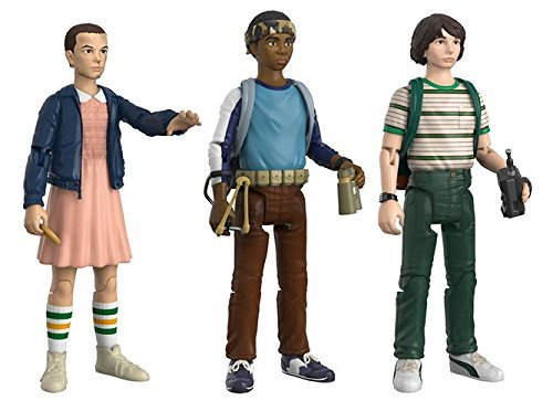 Funko Action Figure Stranger Things 3pk 1 Eleven Lucas Mike