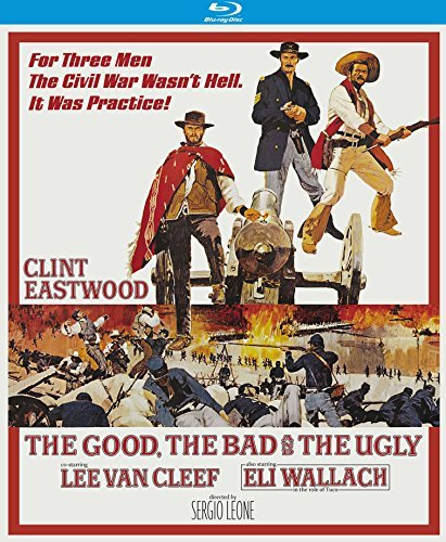The Good The Bad & The Ugly Eastwood Van Cleef Blu Ray R