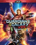 Guardians Of The Galaxy Vol. 2 Pratt Saldana Cooper Diesel Bautista Russell Blu Ray DVD Dc Pg13