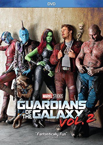 Guardians Of The Galaxy Vol. 2 Pratt Saldana Cooper Diesel Bautista Russell DVD Pg13