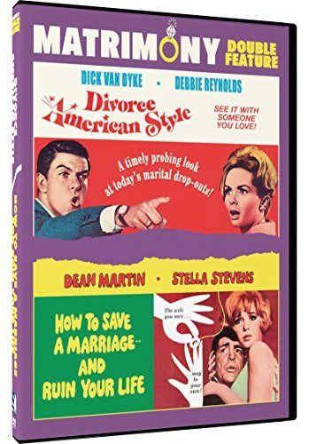 Divorce American Style How To Save A Marriage And Ruin Your Life Marriage Double Feature DVD G