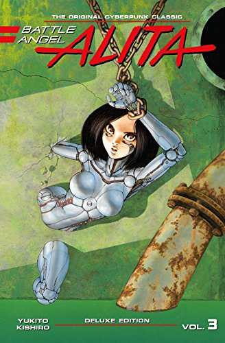 Yukito Kishiro Battle Angel Alita Deluxe Edition 3