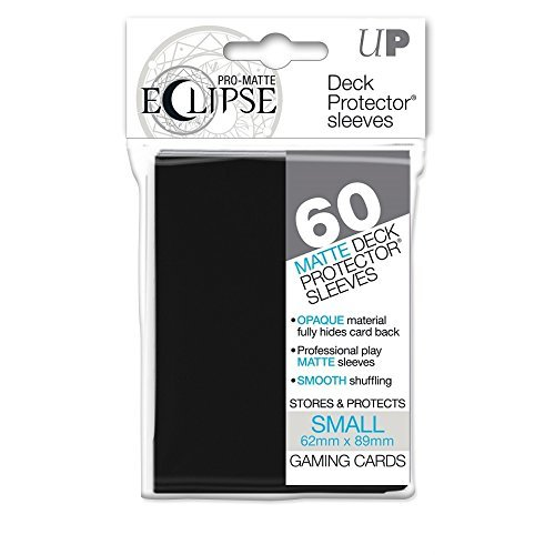 Card Sleeves Eclipse Pro Matte Black Small
