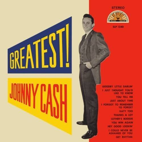 Johnny Cash Greatest! (indie Exclusive Red Vinyl)