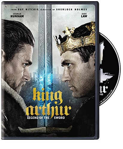 King Arthur Legend Of The Sword Hunnam Berges Frisbey Law DVD Pg13