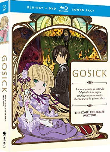 Gosick The Complete Series Part 2 Blu Ray DVD