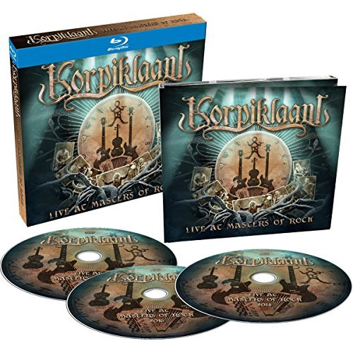 Korpiklaani Live At Masters Of Rock Import Gbr Incl. CD