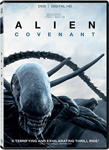 Alien Covenant Fassbender Waterson Crudup DVD Dc R
