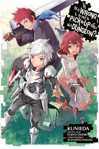 Fujino Omori Is It Wrong To Try To Pick Up Girls In A Dungeon 7