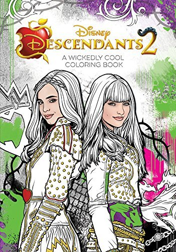 Disney Book Group Descendants 2 A Wickedly Cool Coloring Book