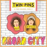 Chronicle Books Broad City Twin Pins Two Enamel Pins