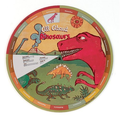 Galison Mudpuppy Dinosaurs Learning Wheel