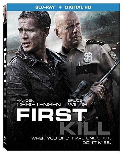 First Kill Willis Christiansen Blu Ray Dc R