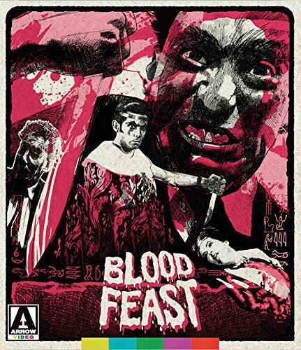 Blood Feast Kerwin Arnold Blu Ray DVD Nr