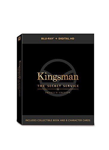 Kingsman Secret Service Firth Jackson Egerton Blu Ray Premium Edition