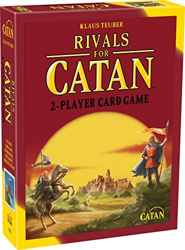 Rivals For Catan 2 Player Card Game