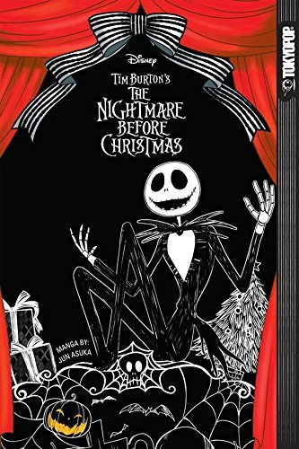 Jun Asuka Disney Manga Tim Burton's The Nightmare Before Christmas Sof