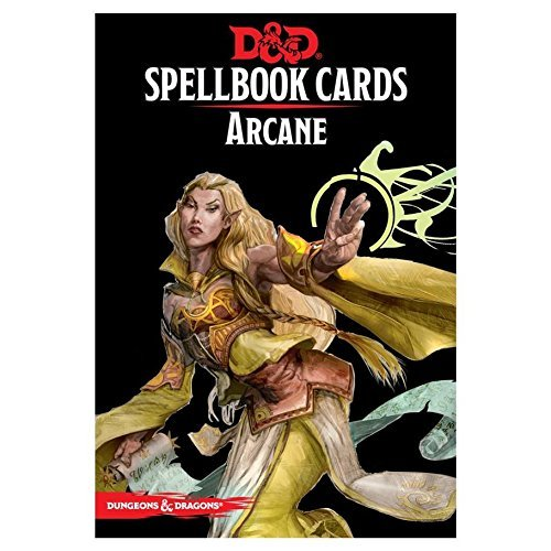 Spell Deck D&d Updated Arcane Spell Cards