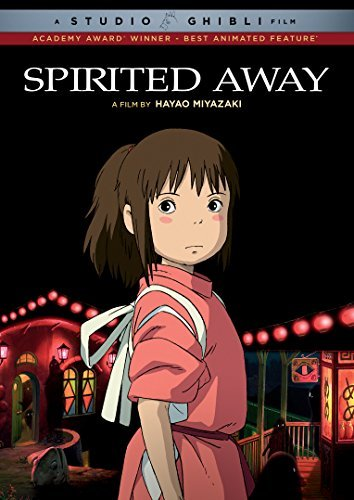 Spirited Away Studio Ghibli DVD Pg