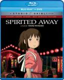 Spirited Away Studio Ghibli Blu Ray DVD Pg