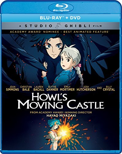 Howl's Moving Castle Studio Ghibli Blu Ray DVD Pg