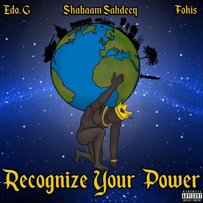 Edo. G Shabaam Sahdeeq & Fokis Recognize Your Power Random Color Vinyl Ep .