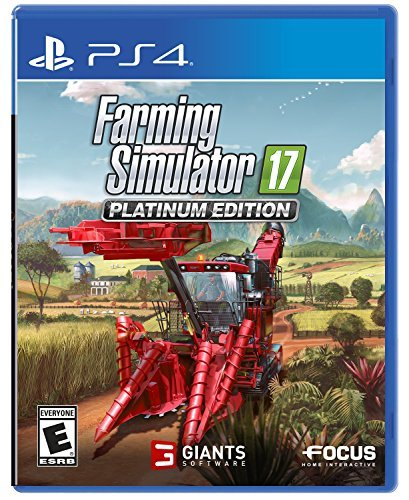 Ps4 Farming Simulator Platinum Edition
