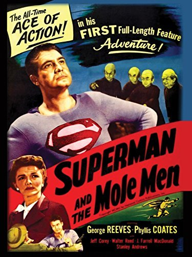 Superman & The Mole Men Reeves Coates DVD Nr